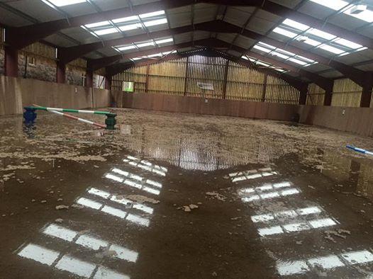 Arena floods